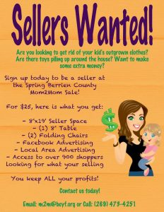 Sellers wanted