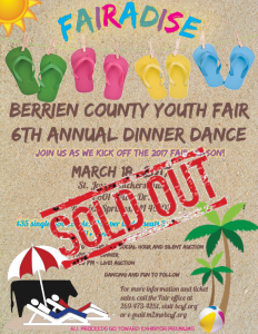 Dinner Dance Flyer Sold Out