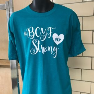 #BCYFStrong Shirts